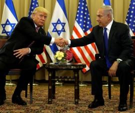 特朗普在以色列表达和平愿景