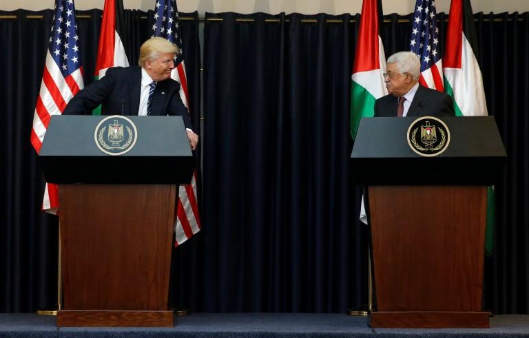 特朗普对以色列和巴勒斯坦可达成协议表示乐观