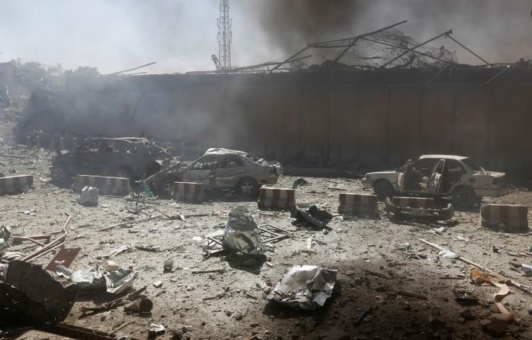 阿富汗喀布尔发生自杀式炸弹袭击