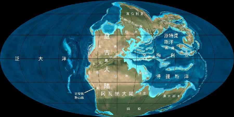 古地球版块