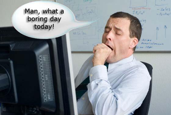 研究表明 无聊会对你的身体健康有害!
