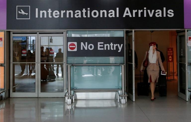 特朗普旅行禁令生效 谁进谁走?