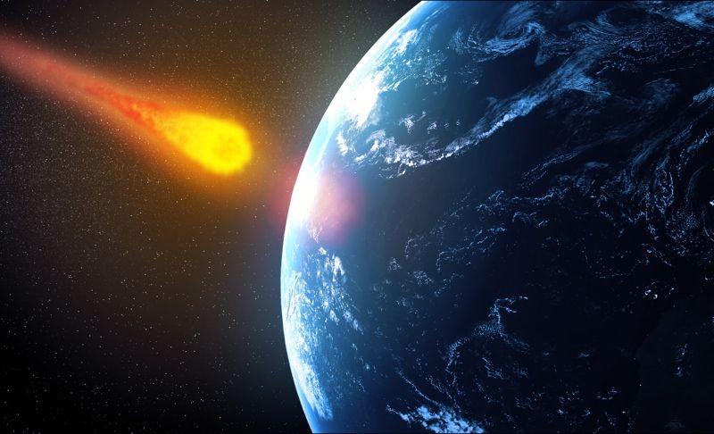 陨石撞地球
