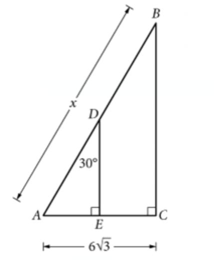 新SAT官方Daily Practice每日一题数学函数题图1