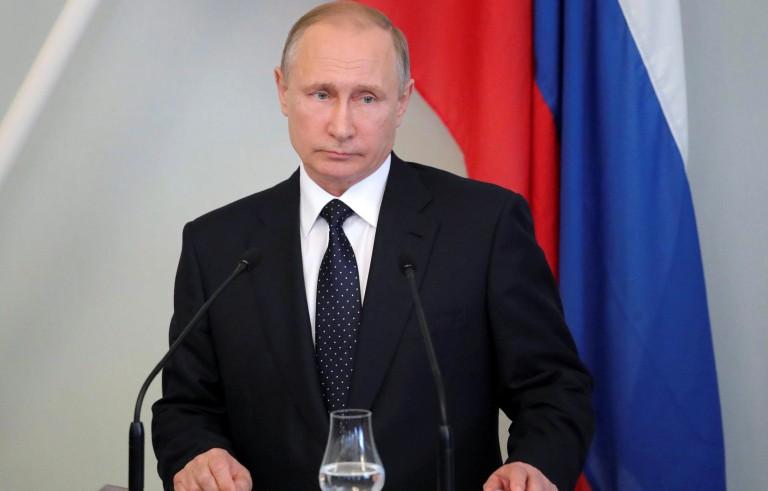 普京对美国的制裁做出回应