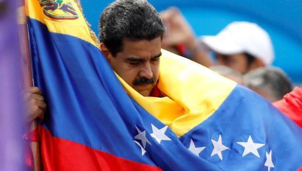 委内瑞拉反对党举行全国罢工.jpeg