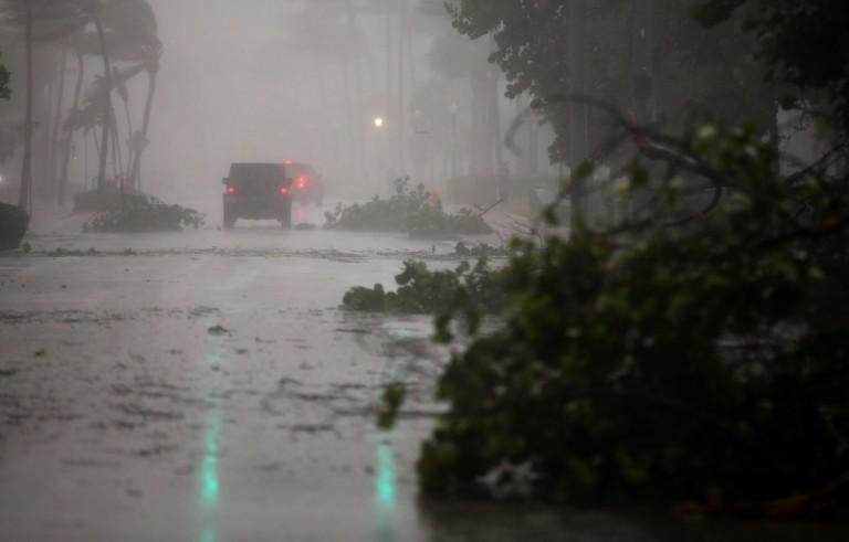 佛罗里达人因Irma飓风而逃离