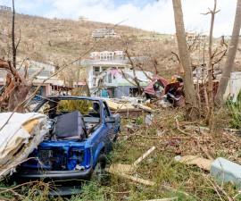 厄玛飓风肆虐维京群岛