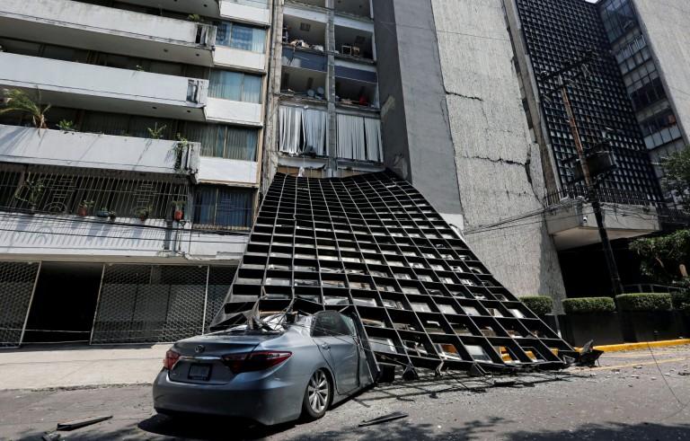 7.1级地震检测墨西哥的应急反应