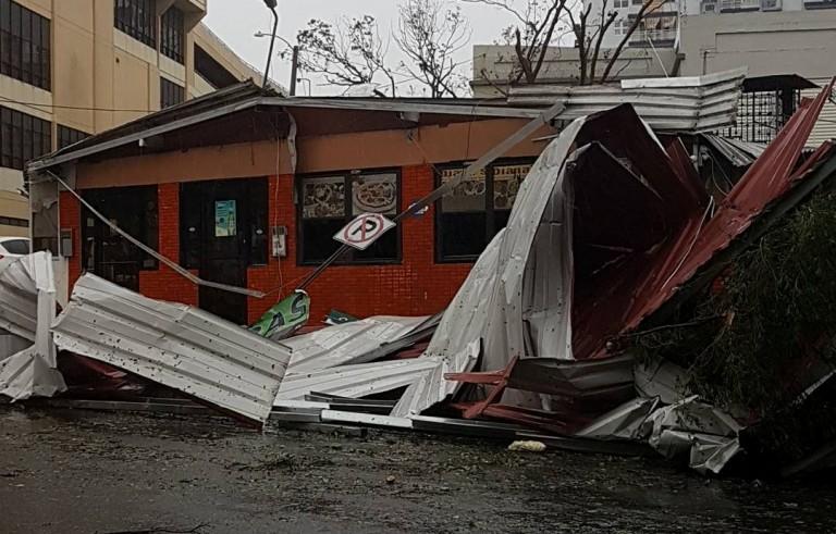 飓风玛丽亚袭击加勒比海地区