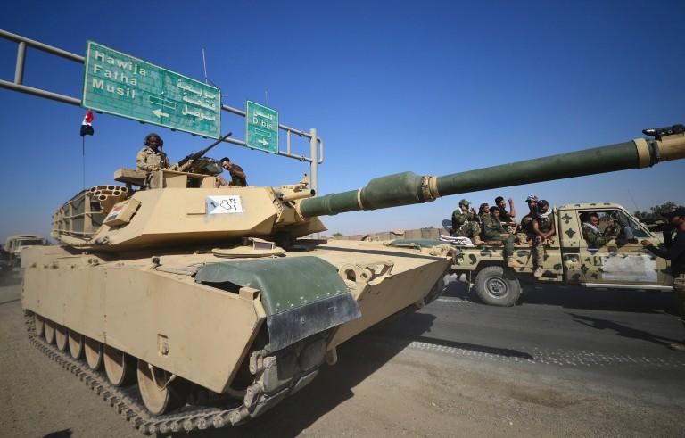 伊拉克政府军与库尔德武装处于对峙状态