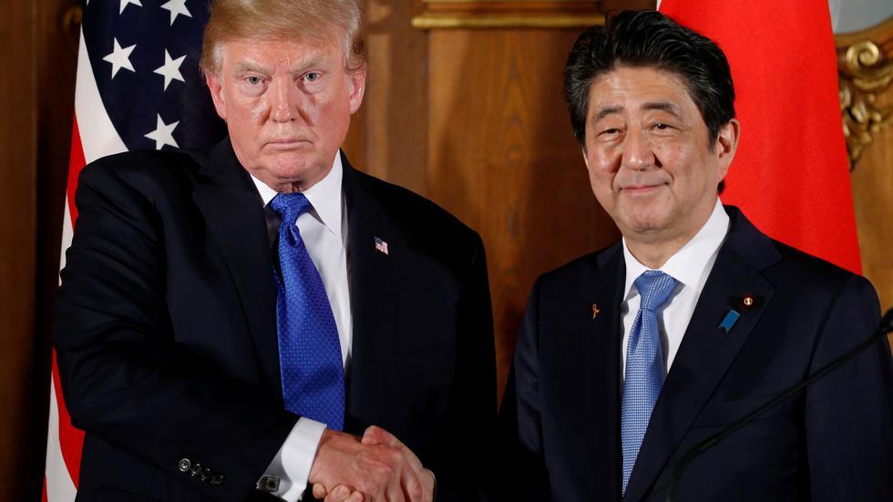 特朗普在东京就贸易及朝鲜问题发表讲话
