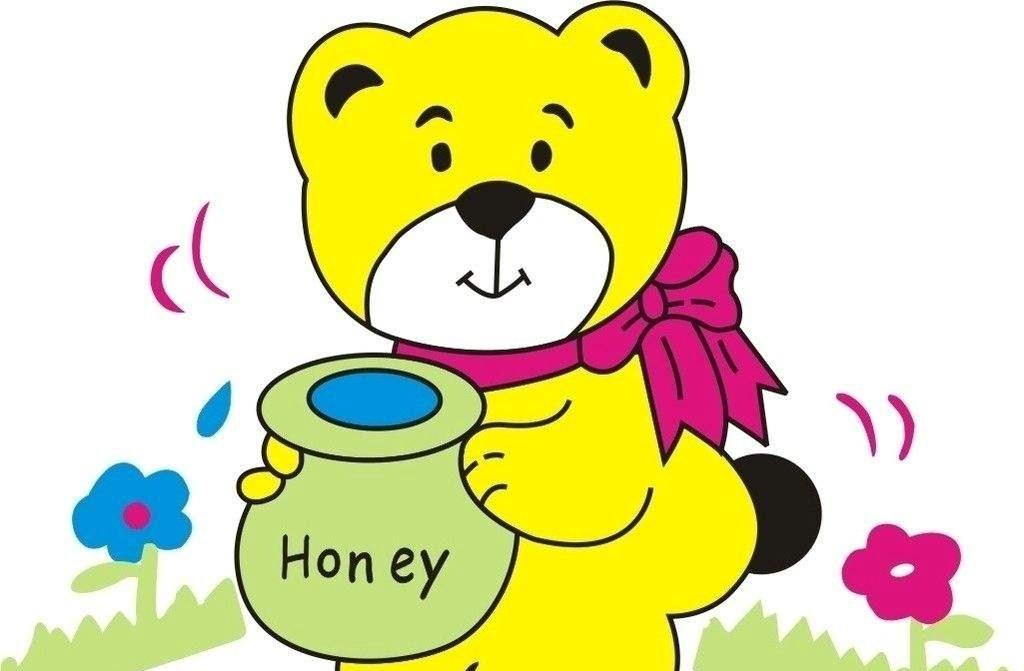 美国小学英语教材1:第10课 小熊和蜂蜜