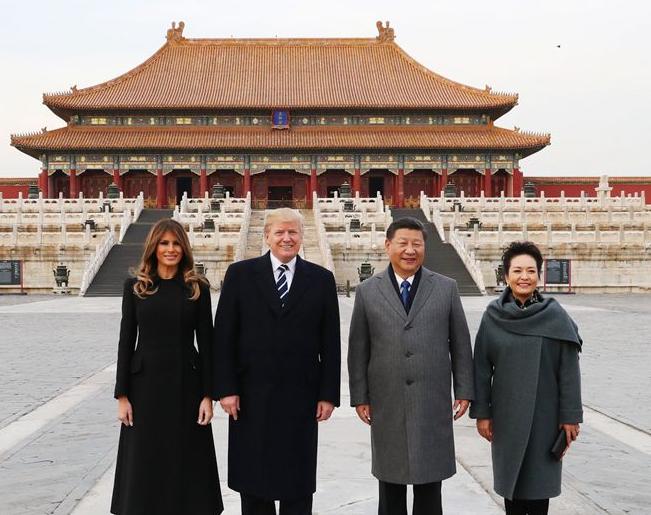 特朗普呼吁中国对朝鲜采取更多行动