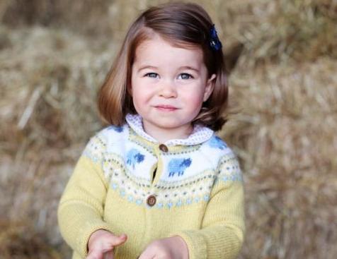 英国夏洛特小公主引领时尚潮流