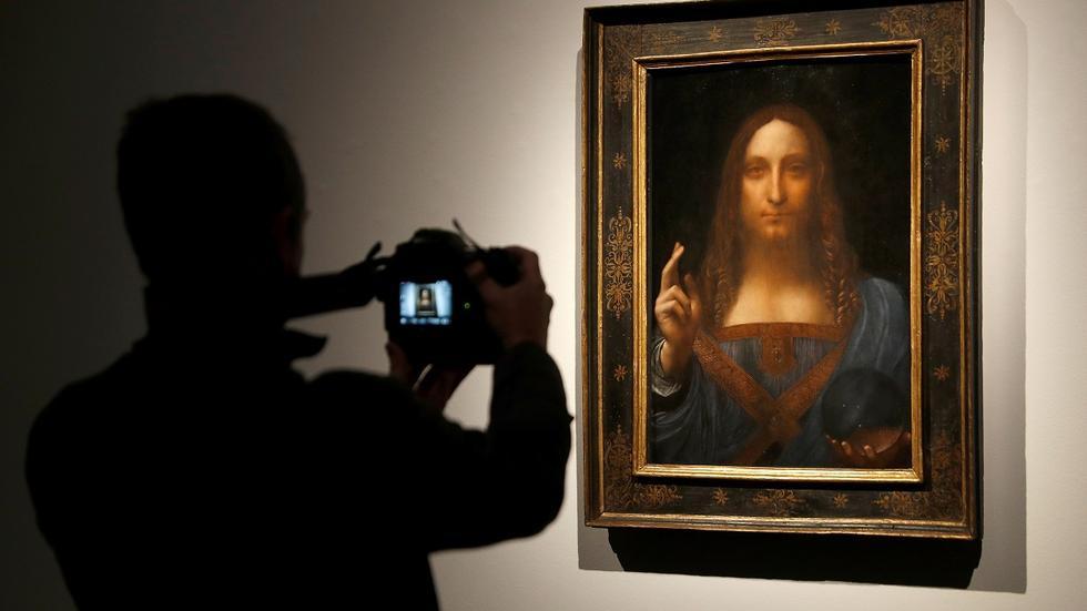 达芬奇名画《救世主》预计拍出1亿美元的高价