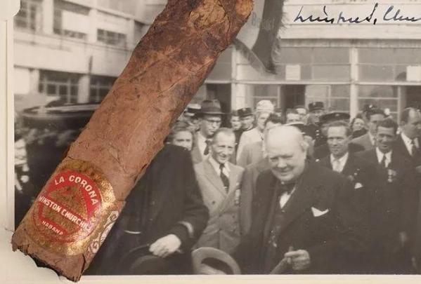 丘吉尔抽剩的半支雪茄以1.2万美元售出