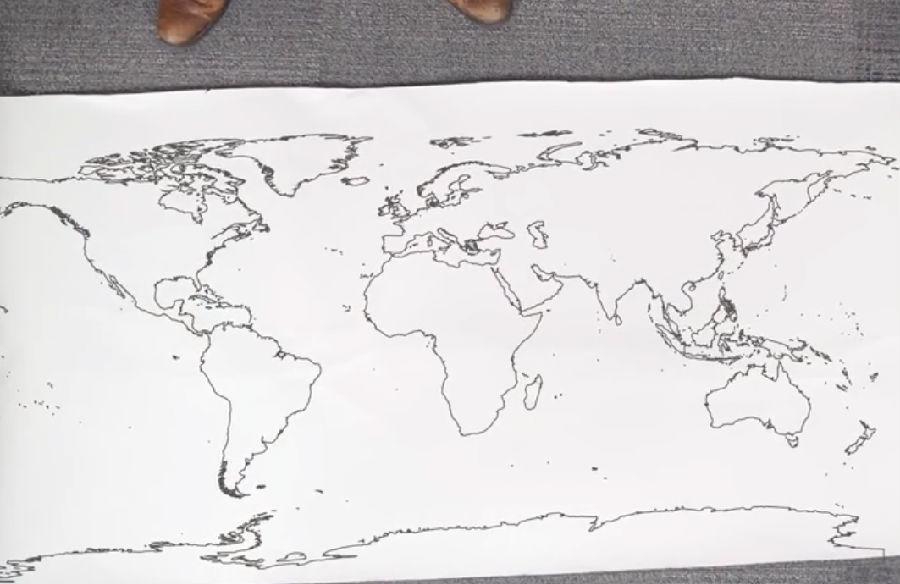 我们看到的世界地图都是错的!_英语视频听力 - 可可
