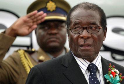 津巴布韦总统穆加比的统治恐将终结