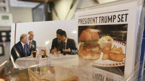 特朗普点赞的汉堡在日本走红.jpg