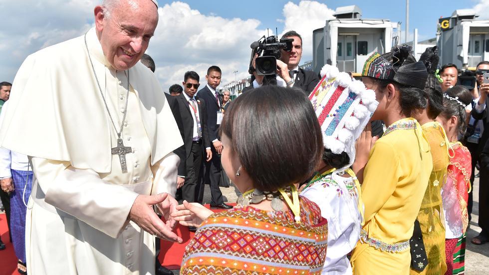 罗马教皇方济各首访缅甸时机微妙