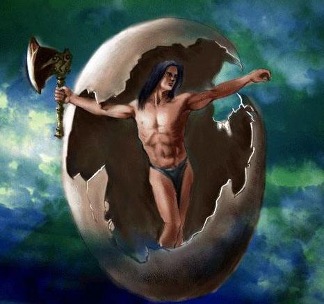 创世神话之盘古开天地