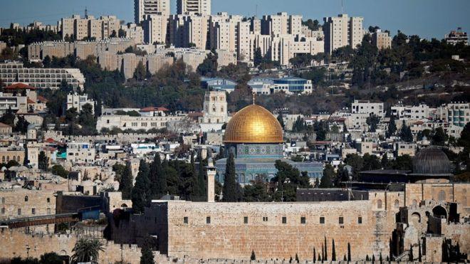 特朗普承认耶路撒冷为以色列首都