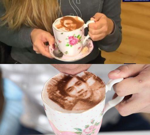 自拍咖啡 咖啡制作新艺术