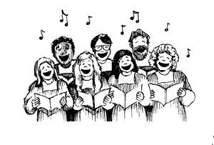 在团队里唱歌让你更开心