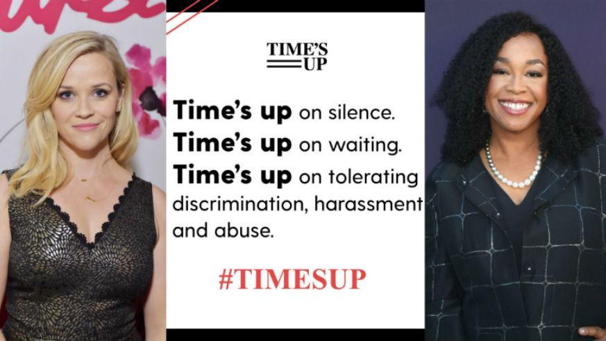 好莱坞众女星抗议性骚扰