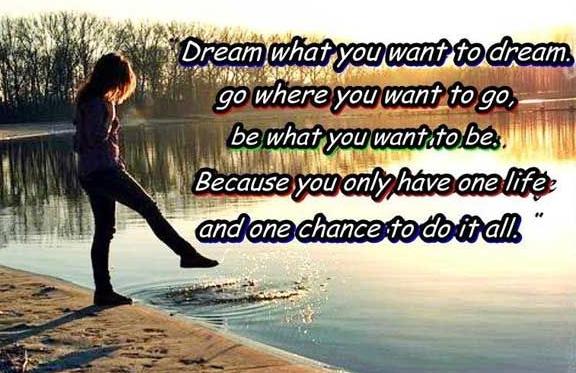 做自己想做的梦