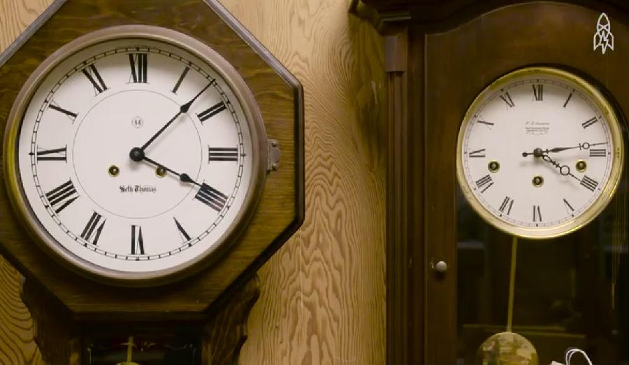 自动时钟是世界上计量时间最精确的工具.