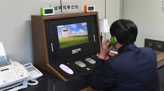 朝韩时隔两年再通话.jpg