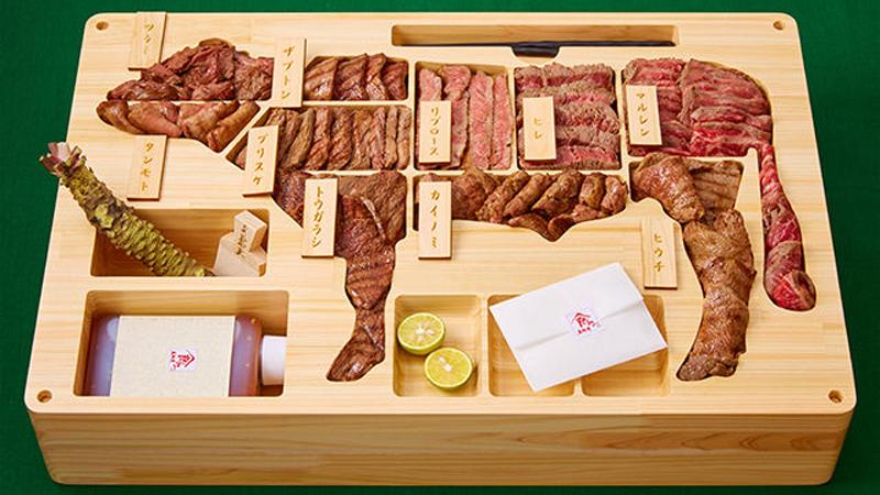 三千美元的日本神户牛肉便当