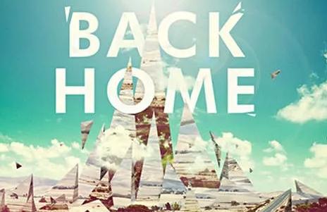 回家不是back home!