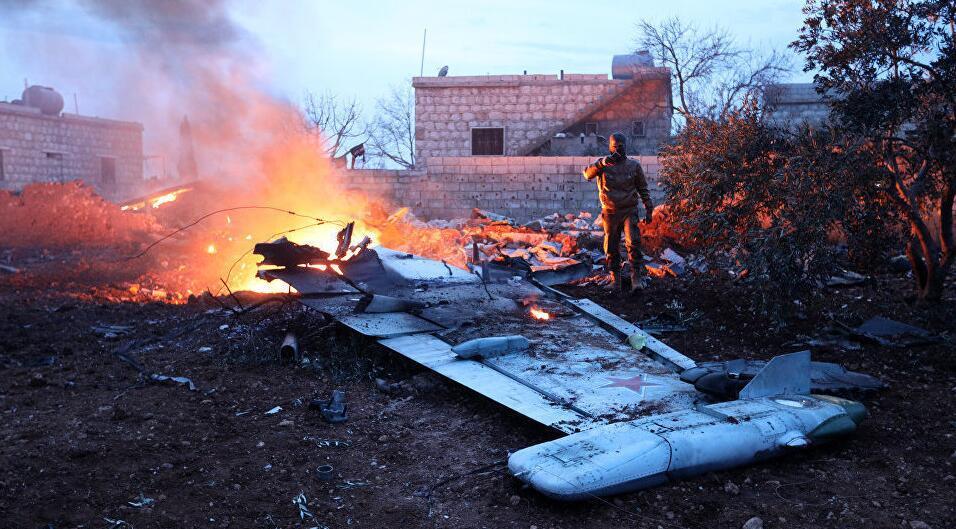 俄战机在叙被击落.jpg