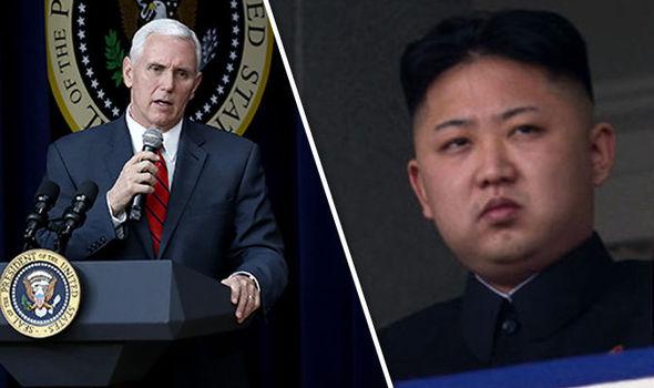美国副总统称不要被朝鲜所欺骗
