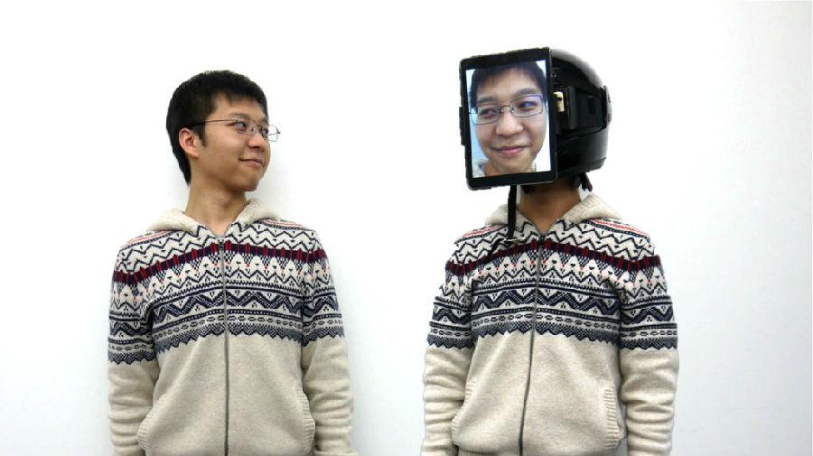 日本发明'人肉优步' 戴上面具就是替身