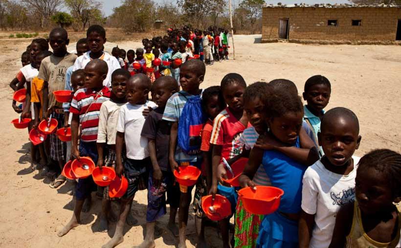 非洲消除营养不良目标难实现
