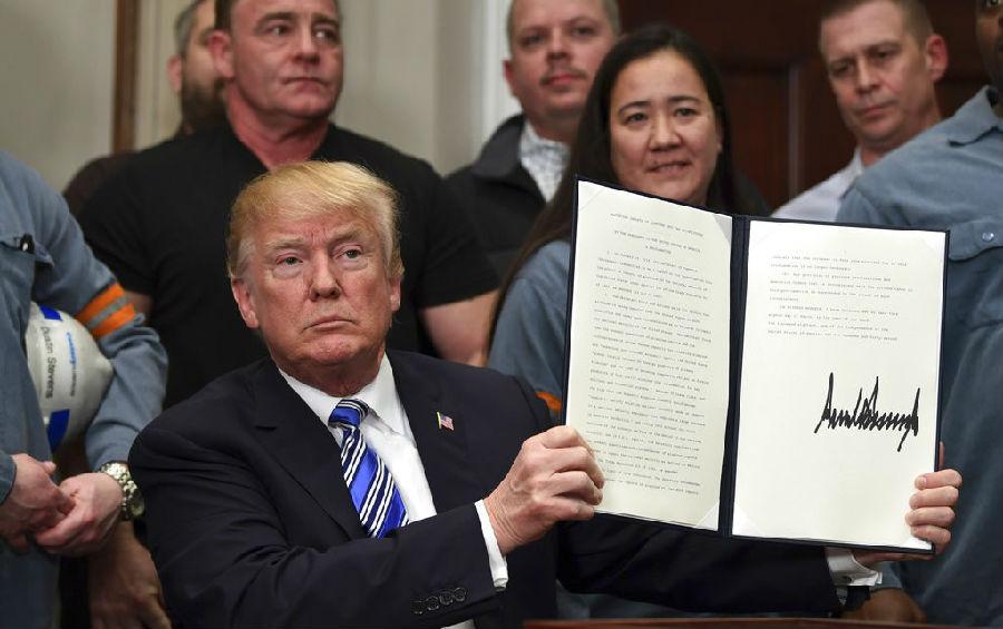 美国钢铁征税 加拿大墨西哥豁免