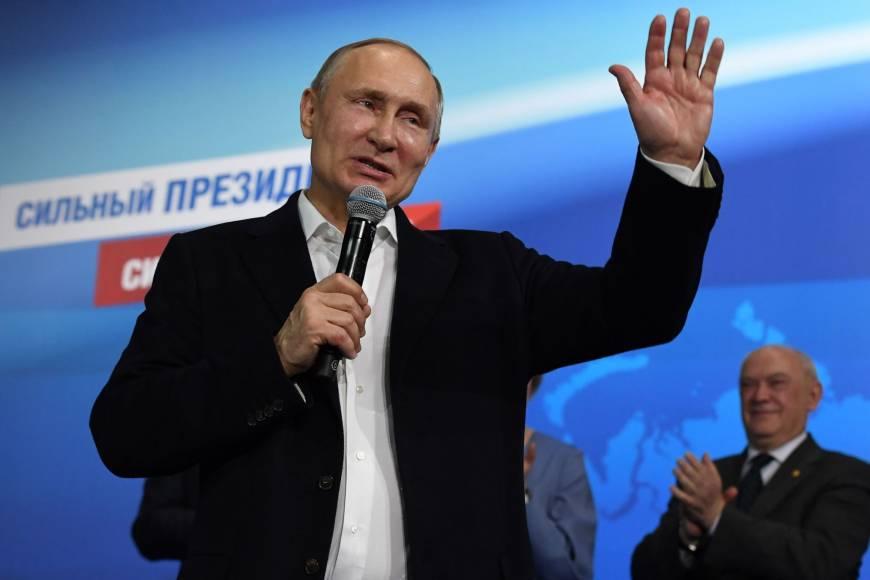 普京赢得俄罗斯总统大选