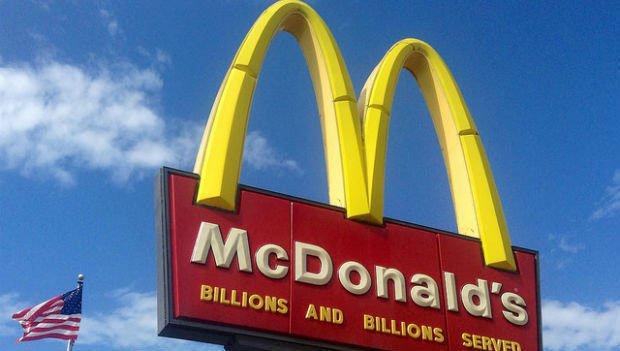 美国遍布麦当劳