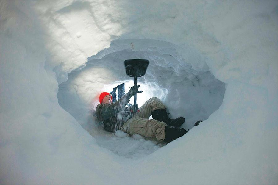 暴风雪中如何求生存?