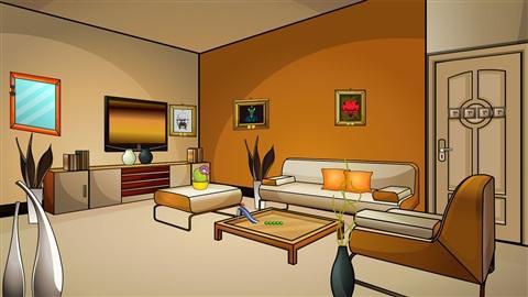 舒适的客厅