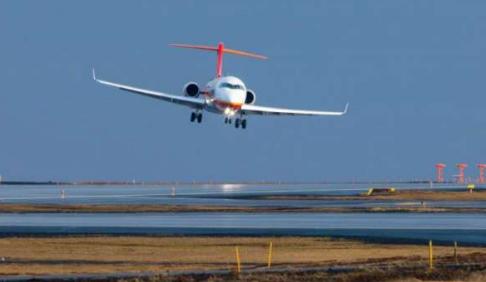 中国ARJ21客机顺利完成大侧风试飞