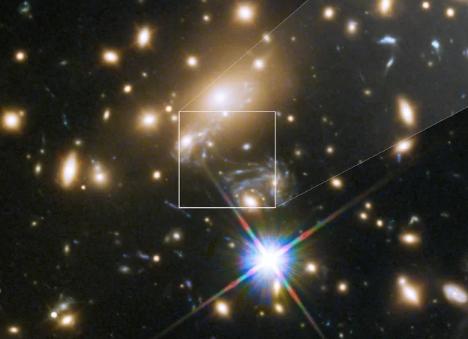 天文突破! 科学家发现最遥远的恒星!