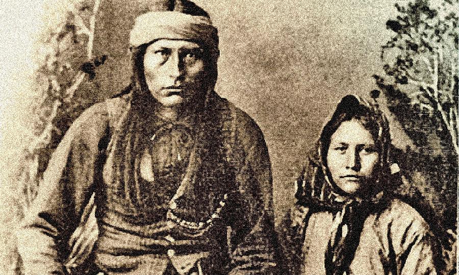 美国人物志-美国印地安酋长可奇思