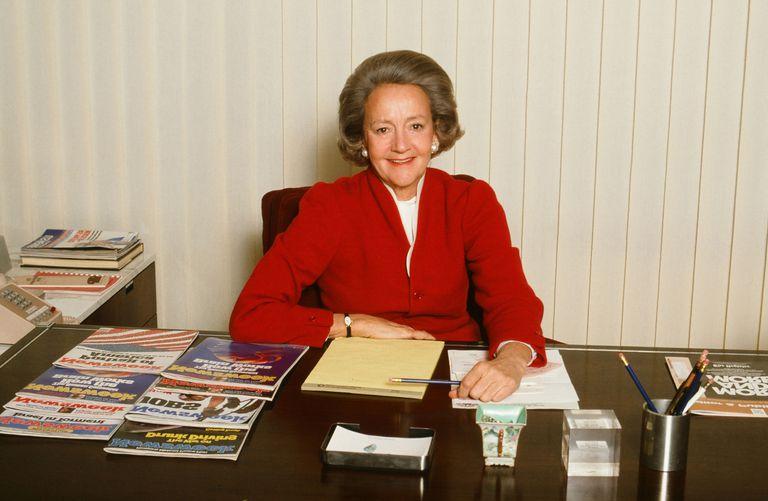 美国传媒界的头面人物—凯瑟琳·格雷厄姆