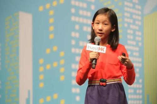 香港13岁女孩开发APP成少年CEO