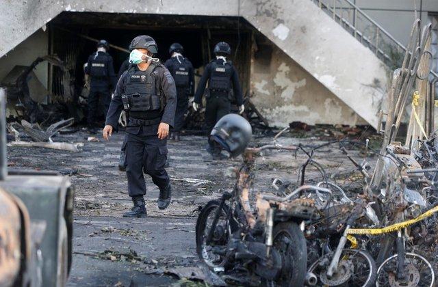 印尼第二大城市遭自杀式炸弹袭击